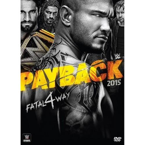 WWE: Payback 2015 (DVD) 2015