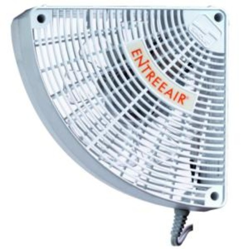 EntreeAir 5 in. Single Speed Door Frame Fan in White