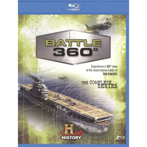 Battle 360: The Complete Season One [3 Discs] [Blu-ray]