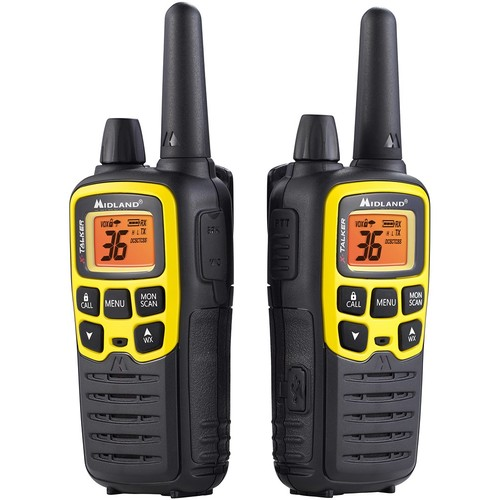 Midland Handheld X-Talker GMRS Radio  Pair, 32-Mile Range, Model# T61VP3