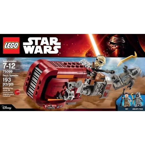 LEGO - Star Wars Rey's Speeder