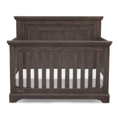 Delta Children Full Size Wood Bed Rails - Black