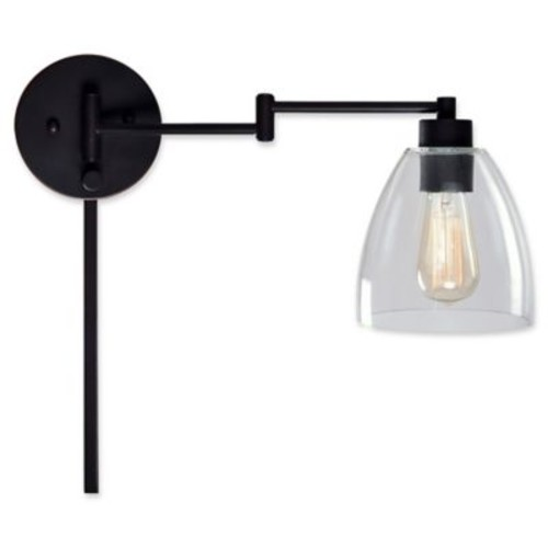 Kenroy Home Edis Swing Arm Wall Lamp