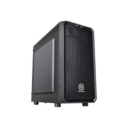 ThermalTake Versa H15 - Micro tower - micro ATX - no power supply (PS/2) - black - USB/Audio (CA-1D4-00S1NN-00)