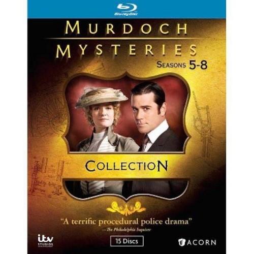 Murdoch mysteries:Collection 5-8 (Blu-ray)
