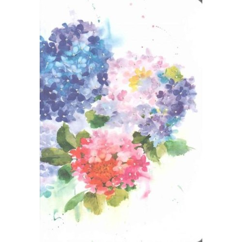 Hydrangeas Journal (Notebook / blank book)