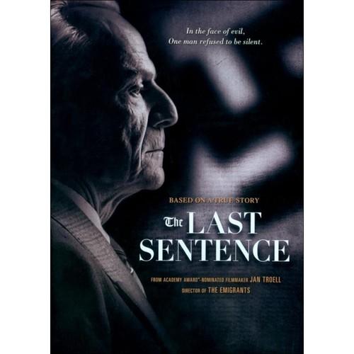 The Last Sentence [DVD] [2011]