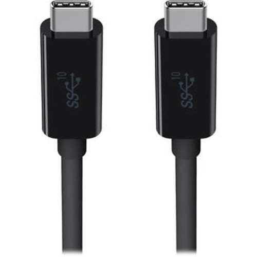 SuperSpeed+ USB 3.1 Type-C to Type-C Cable (3', Black)
