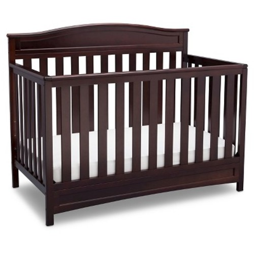 Delta Children Emery 4-in-1 Convertible Crib - Espresso