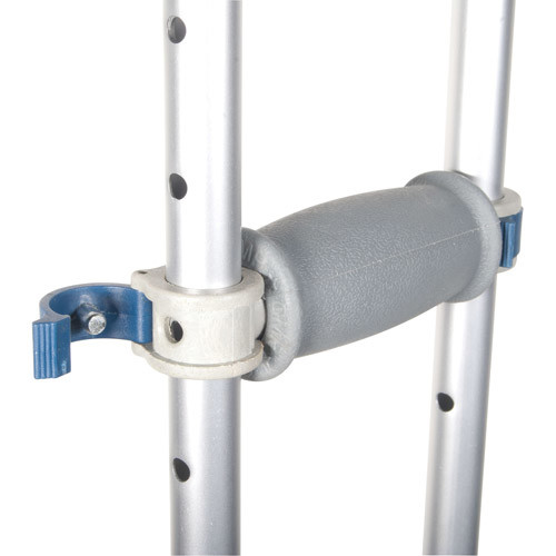 Drive Medical Knock Down Universal Aluminum Crutches, Silver