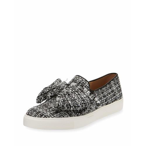 Karl Lagerfeld Paris Esme Boucle Bow Sneaker