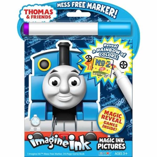 Bendon Thomas Magic Ink With Mess-Free Marker - Thomas Magic Ink wMess-Free Marker