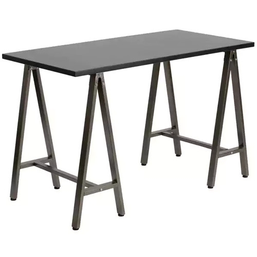 Flash Furniture Computer Desks Metal Office Desk [option : Black]