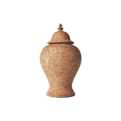 Quinta Cork Ginger Jar, Natural
