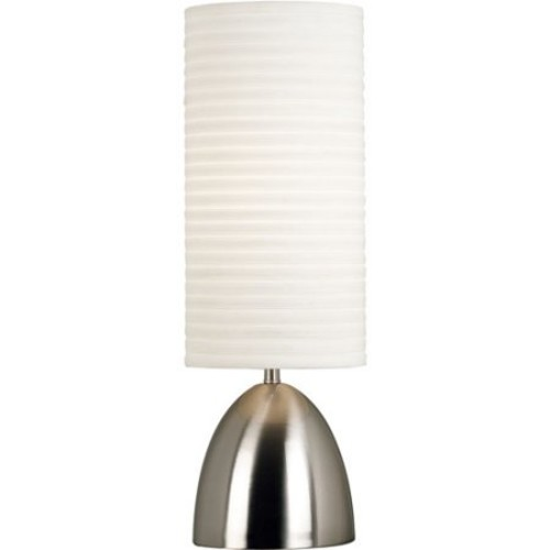 Kenroy Home Bandeau Table Lamp, Brushed Steel