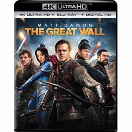 The Great Wall [4k UHD] [Blu-Ray] [Digital HD]