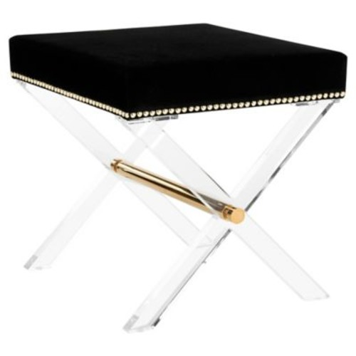 Couture Jezebel Bench in Black