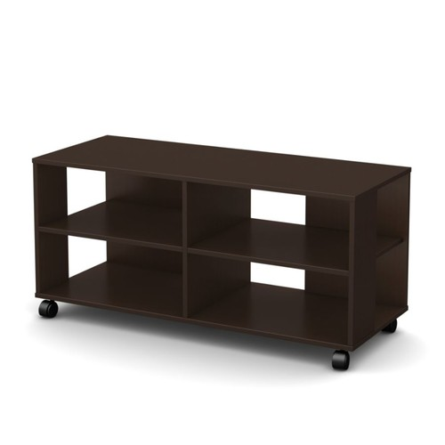 South Shore Jambory Particleboard Storage Unit On Casters For TVs Up To 48