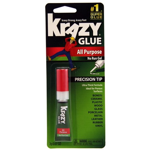 Krazy Glue KG86648R Extra Strength Krazy Glue Gel