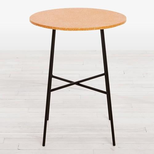 Gesso Side Table Ochre