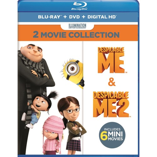 Despicable Me 2-Movie Collection [Blu-ray/DVD] [4 Discs]