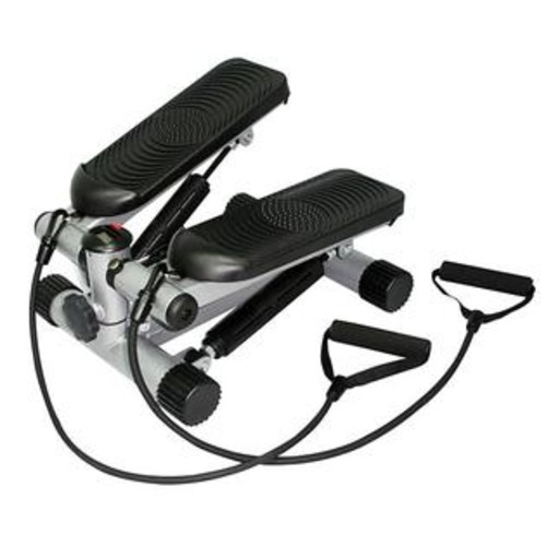 Sunny Health & Fitness Sunny Health Fitness Mini Stepper with Resistance Bands