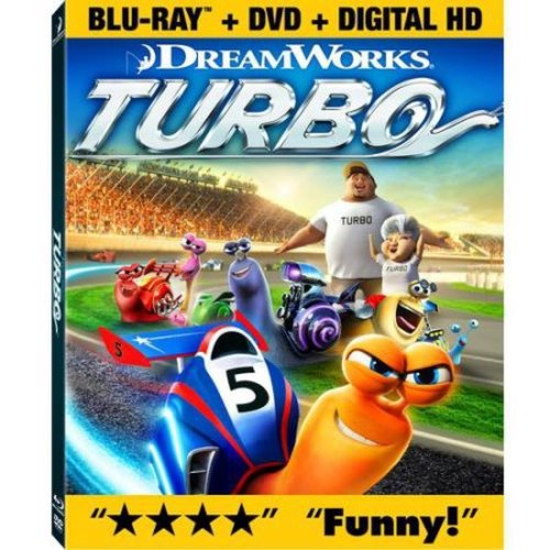 Turbo (Blu-ray + DVD + Digital Copy)