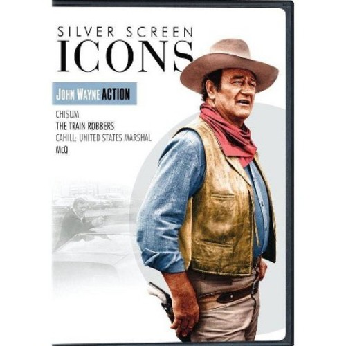 Silver Screen Icons: John Wayne Action [DVD]