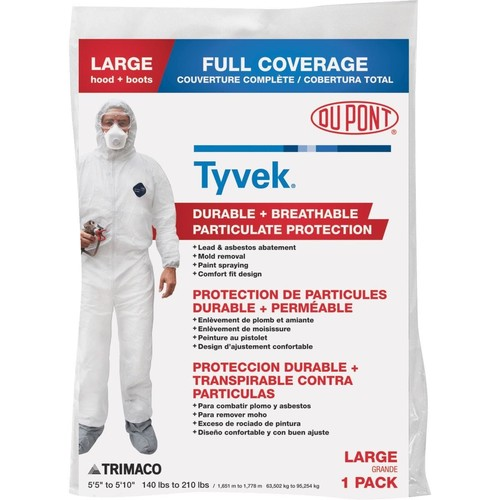Dupont Tyvek Full Coverage Painter's Coveralls - 141222/12