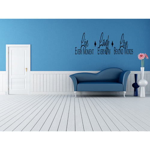 The life of every moment Wall Art Sticker Decal