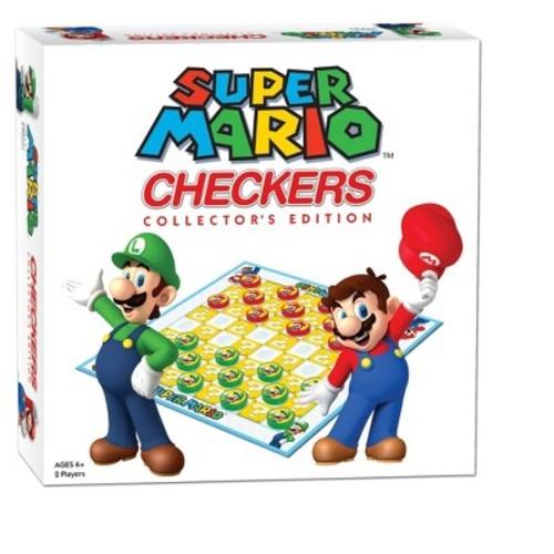 Checkers: Super Mario Game