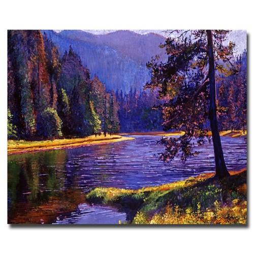 Trademark Global David Lloyd Glover 'Lone Pine' Canvas Art [Overall Dimensions : 18x24]