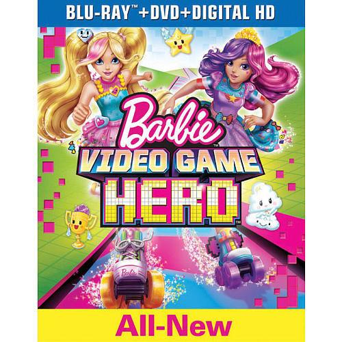 Barbie: Video Game Hero Blu-Ray Combo Pack (Blu-Ray/DVD/Digital HD)