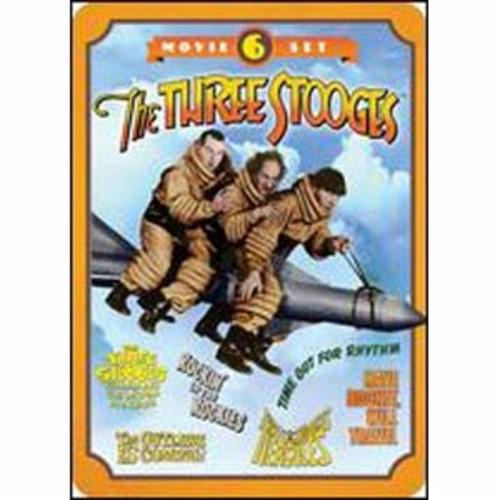 The Three Stooges: 6 Movie Set [2 Discs] [Tin Case]