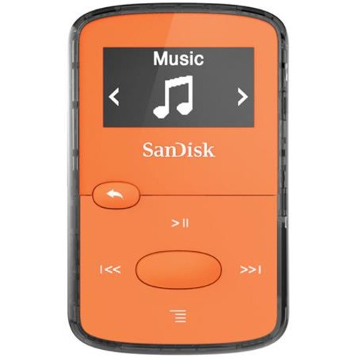 Sandisk 8GB Clip Jam MP3 Player - Orange SDMX26-008G-G46O