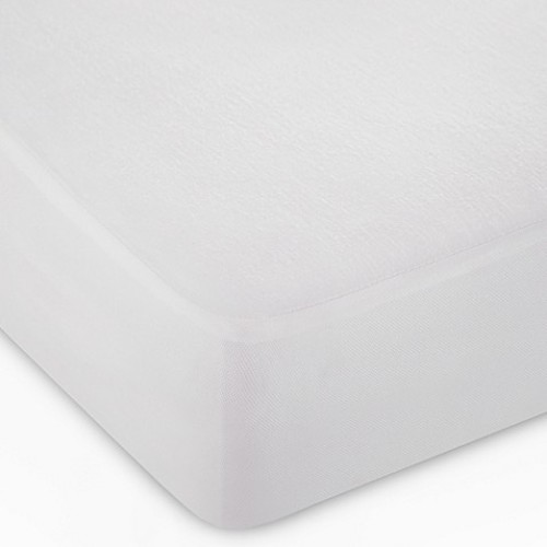 dreamSERENE Tranquility Crib Mattress Protector in White (Set of 2)