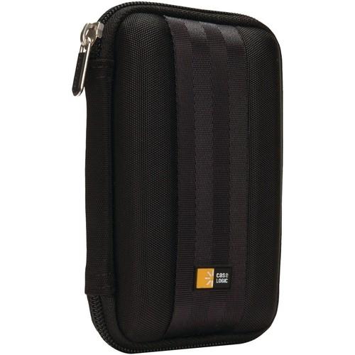 Case Logic QHDC-101 Portable EVA Hard Drive Case - Black [Black]