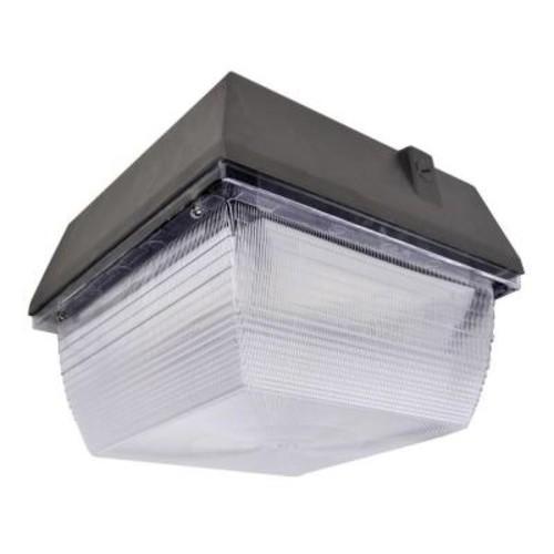 Axis LED Lighting 60-Watt Bronze LED Outdoor Canopy Light Natural White (5000K)