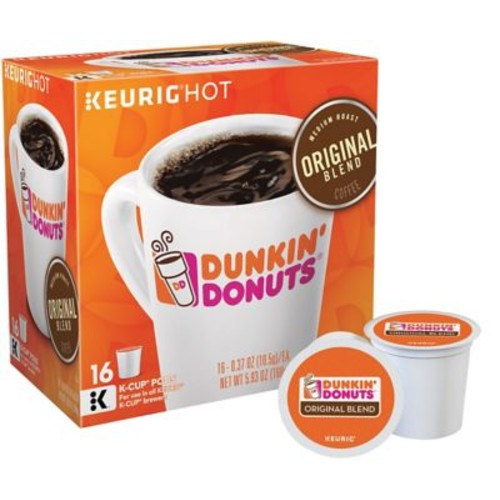 Dunkin' Donuts Keurig K-Cup Pods, 16 Pack, Assorted Flavors