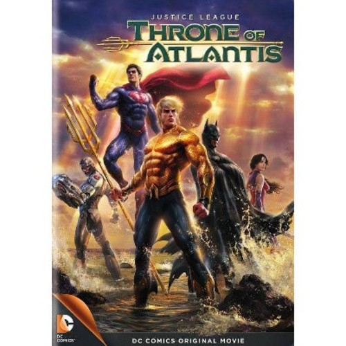 Justice League: Throne of Atlantis (dvd_video)