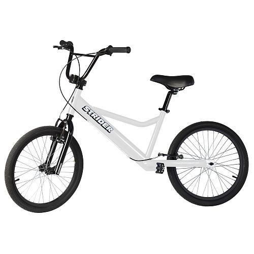 Strider 20 Sport No-Pedal Balance Bike - White
