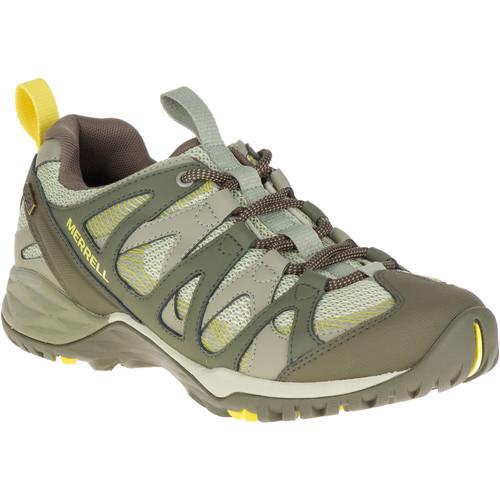 MERRELL Women's Siren Hex Q2 Waterproof Hiking Shoes, Olive