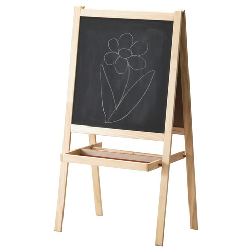 MLA Easel, softwood, white