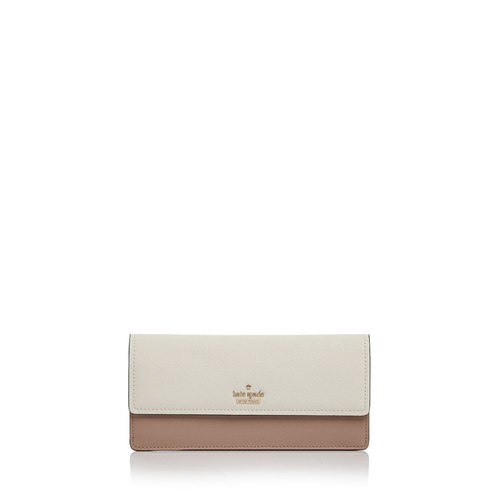 KATE SPADE NEW YORK Cameron Street Alli Color Block Leather Wallet