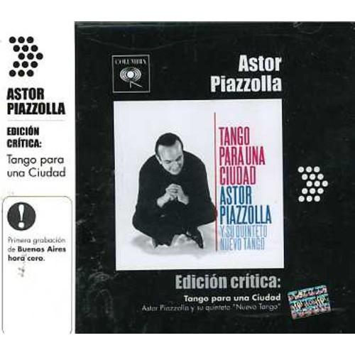 Edicion Critica: Tango Para Una Ciud Ad