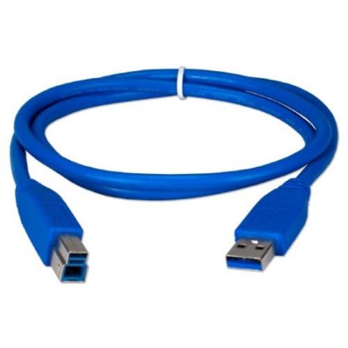 QVS CC2219C03 3 Foot USB 3.0 Cable - Blue
