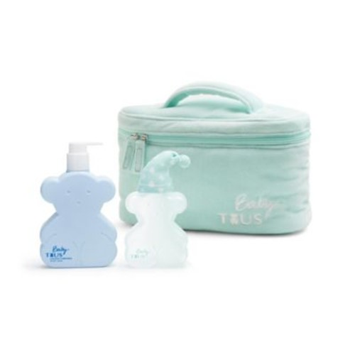 Tous Baby My First Kit Gift Set in Aqua