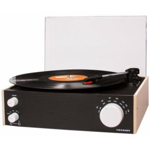 Crosley Deer Park Switch Bluetooth Turntable, Natural (CRR276)