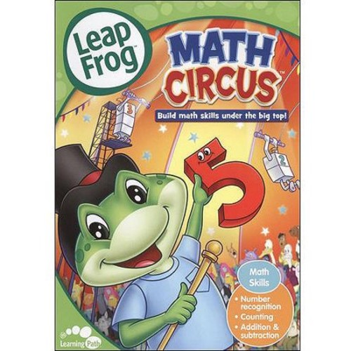 LeapFrog: Math Circus [With Flash Cards] [DVD] [English] [2004]