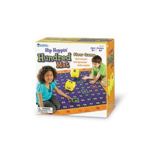 Learning Resources LER1100 Hip Hoppin Hundred Mat